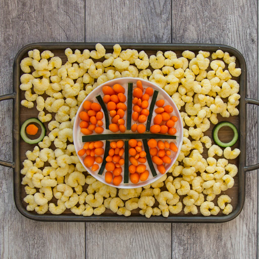 Basketball Snack Spread