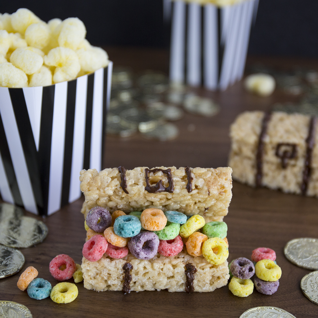 Cereal Treat Treasure Chests