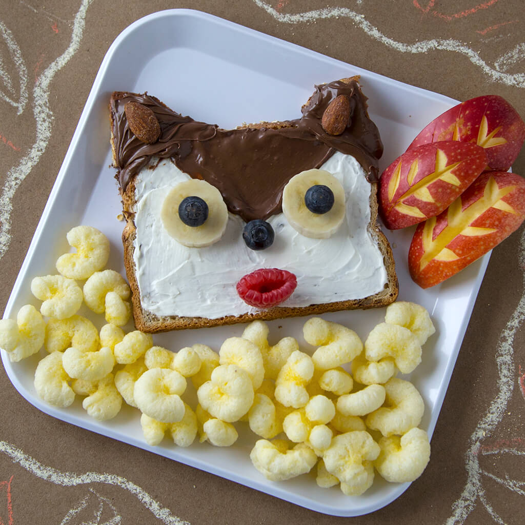 Fall-themed Snack Plate