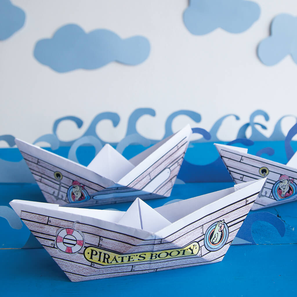 Paper Pirate Ships