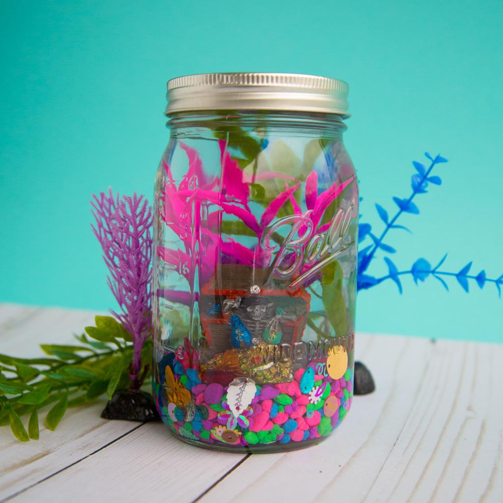 Glass Jar Aquarium