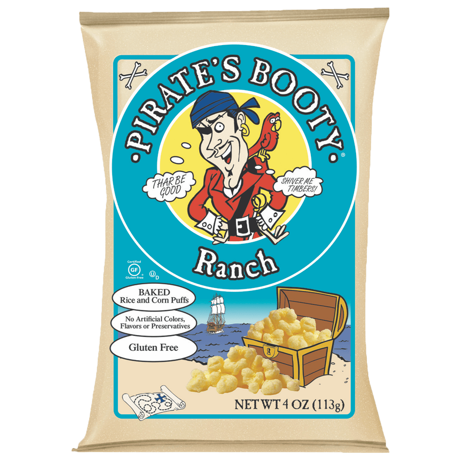 Pirate's Booty Ranch 4oz Bag