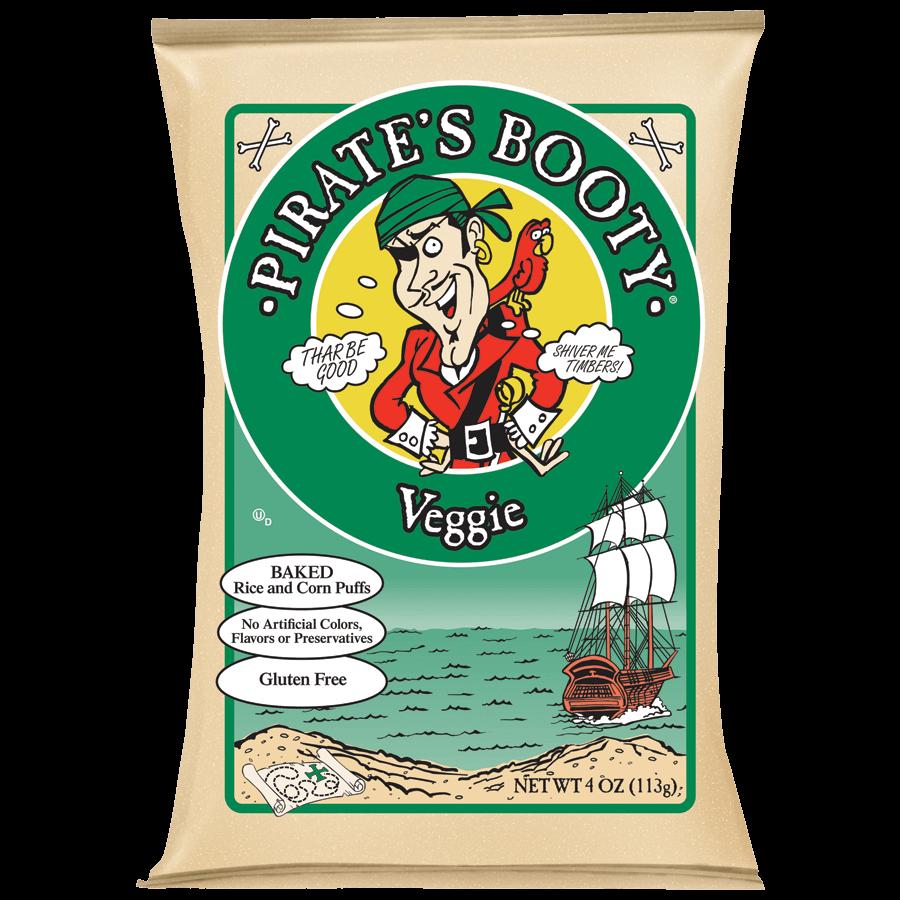 Pirate's Booty Veggie 4oz Bag