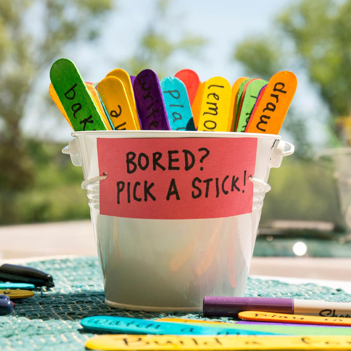 Choose-an-Adventure Sticks