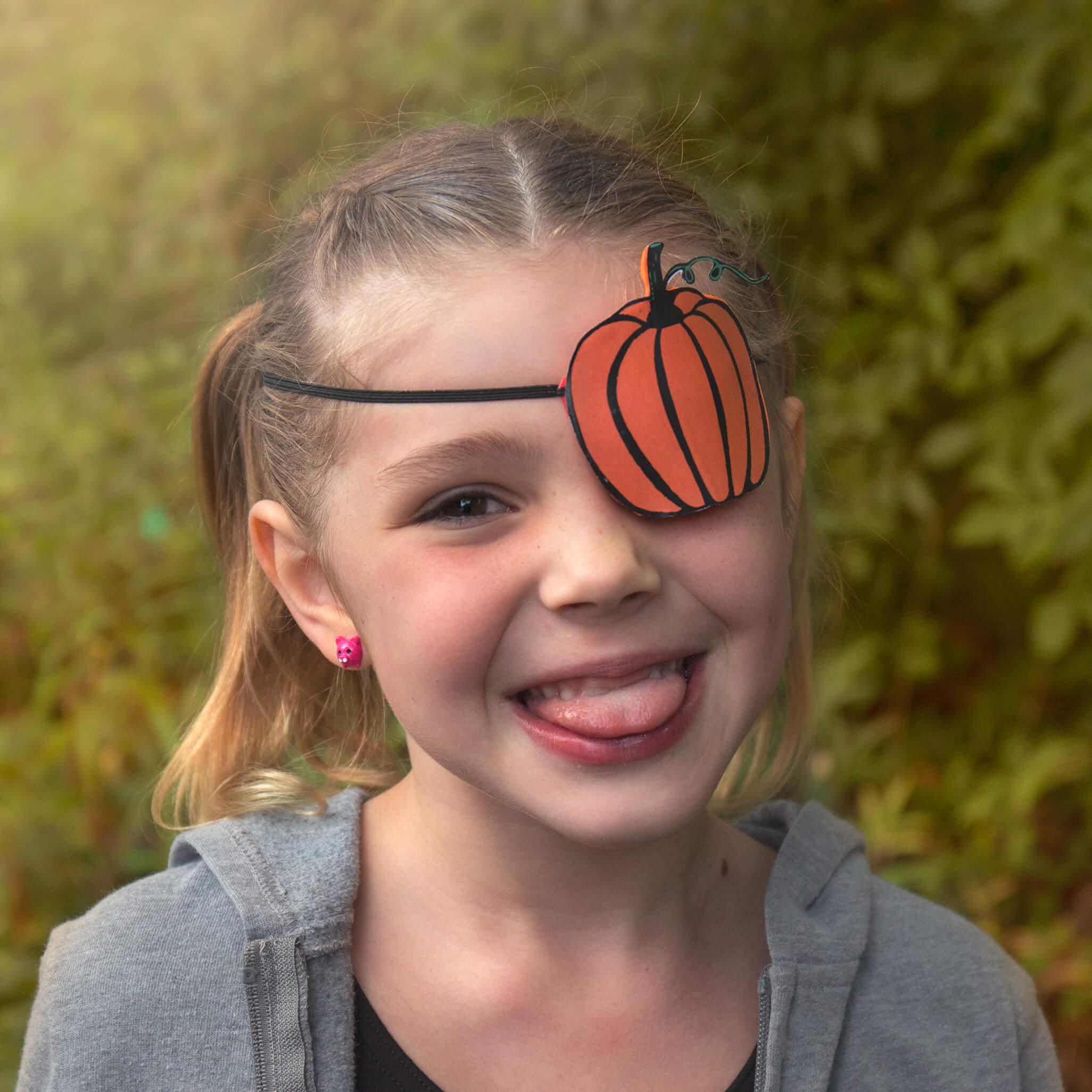 Pumpkin Eyepatch